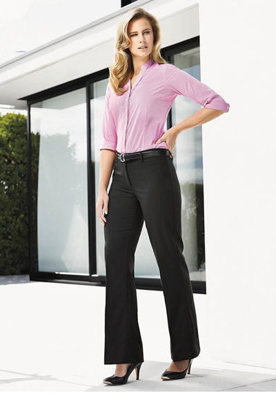 10114 Ladies Relaxed Fit Bootleg Pant
