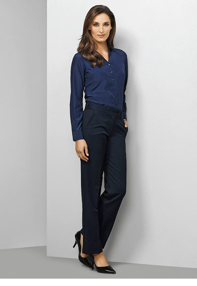 10115 Ladies Mid Rise Adjustable Waist Pant