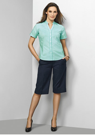 10119 Ladies Adjustable Waist Short