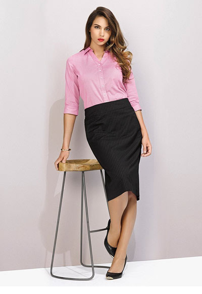 20211 Ladies Relaxed Fit Lined Skirt