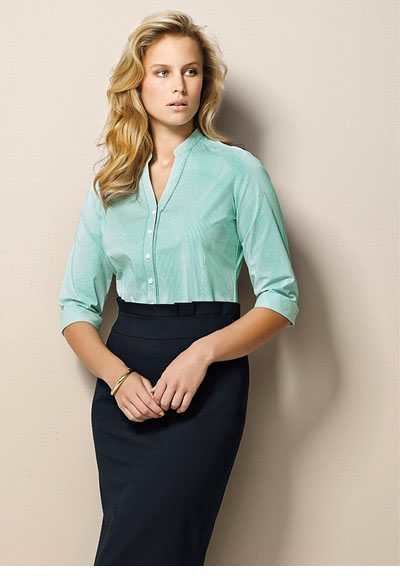 24016 Ladies Waisted Pencil Skirt