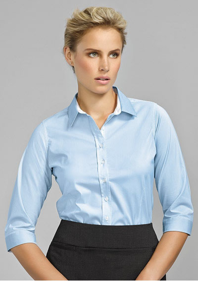 40111 Fifth Avenue Ladies 3/4 Sleeve Shirt