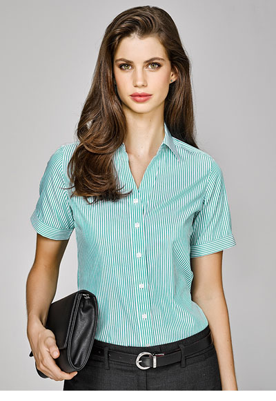 40212 Vermont Ladies Short Sleeve Shirt