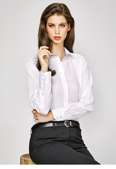 41820 Herne Bay Ladies Long Sleeve Shirt