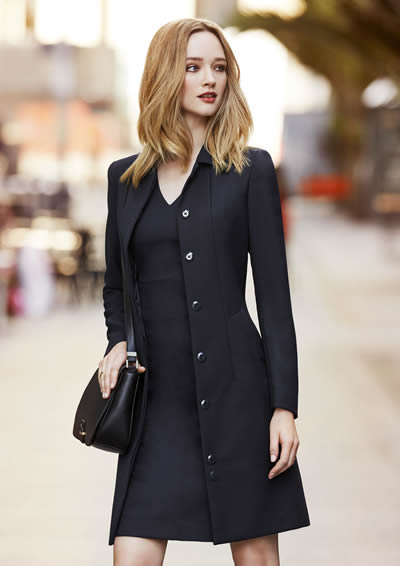 63830 Ladies Lined Overcoat