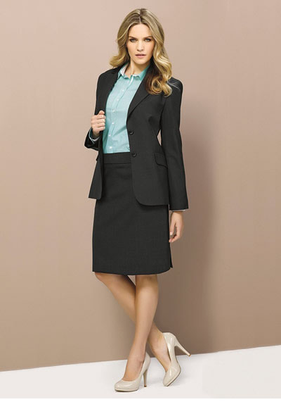 64012 Ladies Longerline Jacket