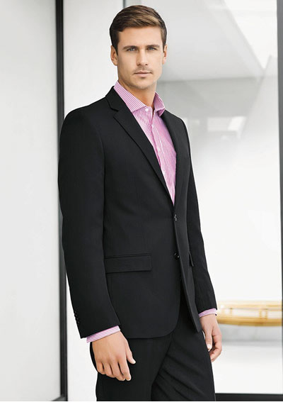 80113 Men's Slimline 2 Button Jacket
