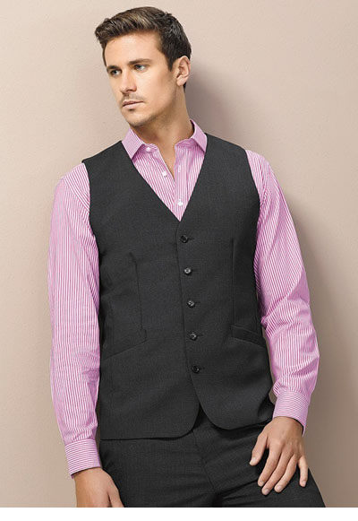 94012 Men's Longline Vest [wool stretch]