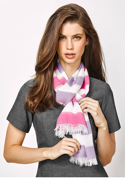 99001 Ladies Two Tone Scarf