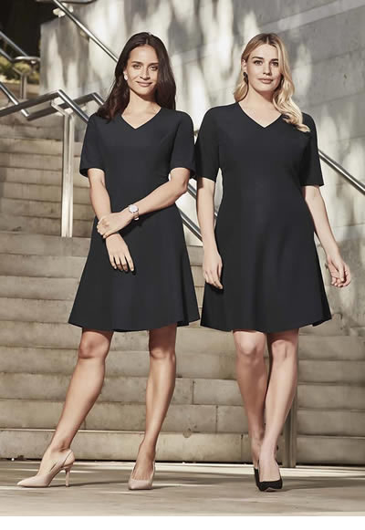 RD974L Womens Siena Extended Sleeve Dress